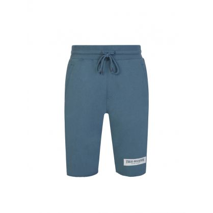 Blue Welt Pocket Shorts