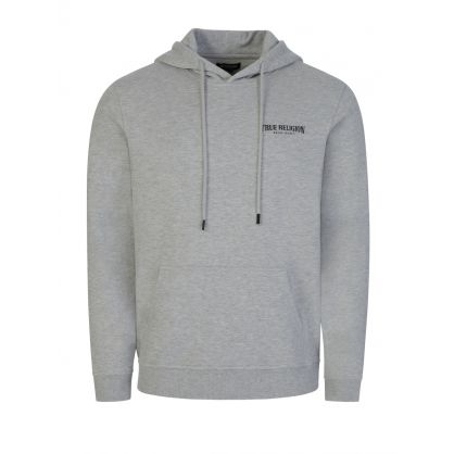 Grey Arch Logo Popover Hoodie