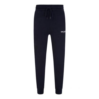 Navy Welt Pocket Sweatpants