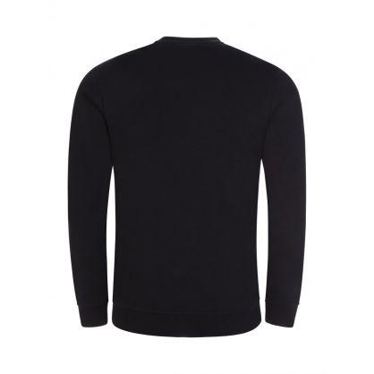 Black Arch Logo Sweatshirt