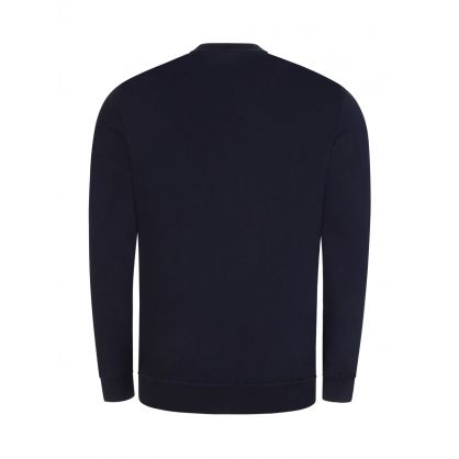 Navy Arch Logo Sweatshirt