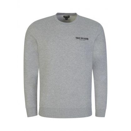 Grey Arch Logo Popover Sweatshirt