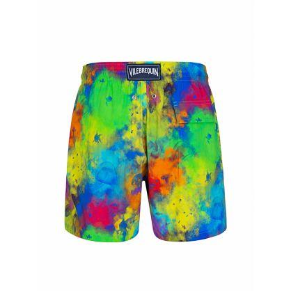 Multicoloured Watercolour Swim Shorts