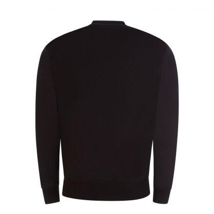 Black Jewelled Logo Sweatshirt