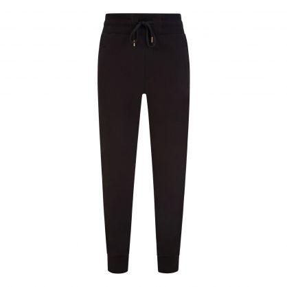 Black Emblem Leaf Sweatpants