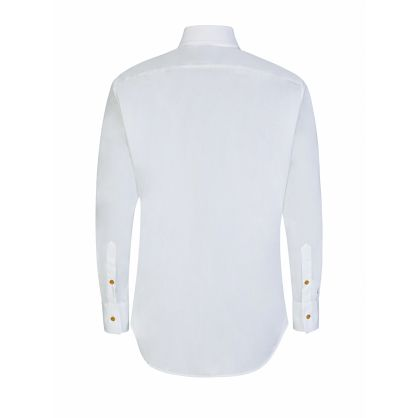 White New Cutaway Shirt