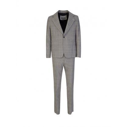 Grey Classic Check Jacket