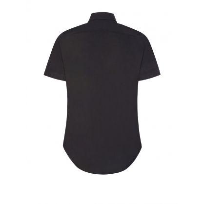 Black Classic Short Sleeve Shirt