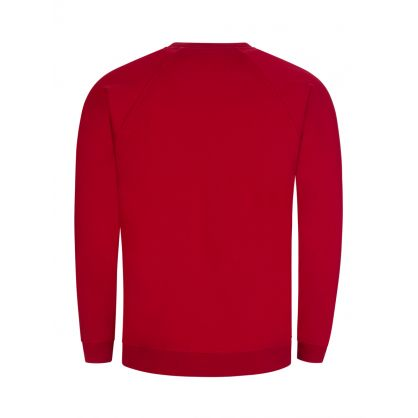 Red Raglan Sweatshirt