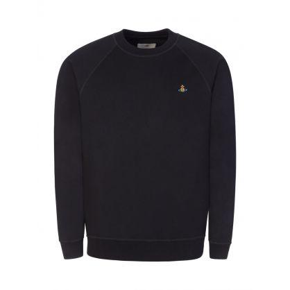 Black Raglan Sweatshirt