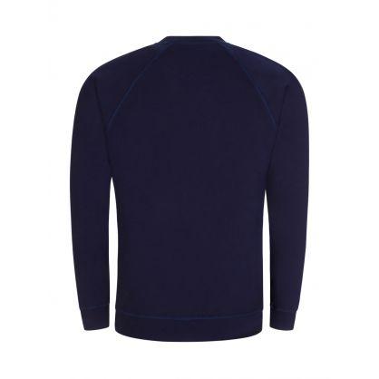 Navy Raglan Sweatshirt