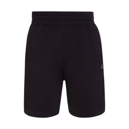 Black Action Man Shorts