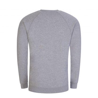 Grey Raglan Orb Logo Sweatshirt