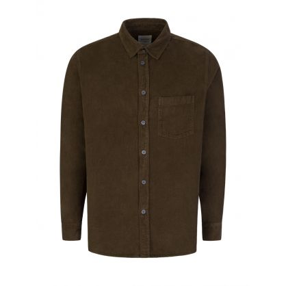 Green Aske Corduroy Shirt