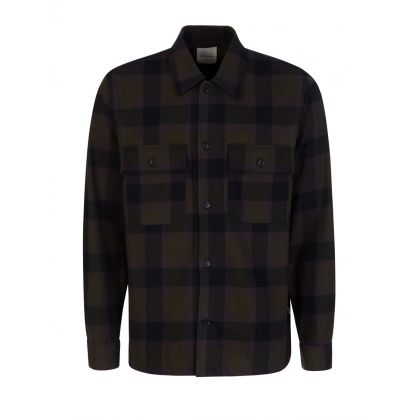 Green Checked Franco Shirt