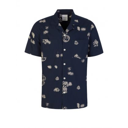 Blue Brandon Graphic Shirt