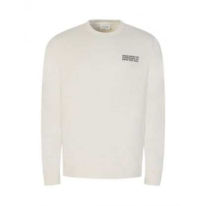 Off White Hugh Info Sweatshirt