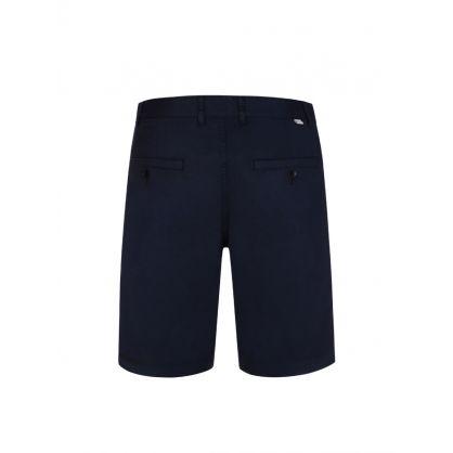 Navy Jonathan Twill Shorts