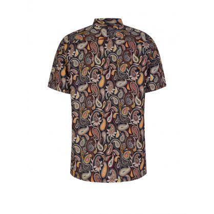 Navy Thor Paisley Shirt