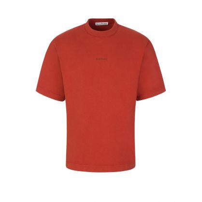 Copper Printed Logo T-Shirt