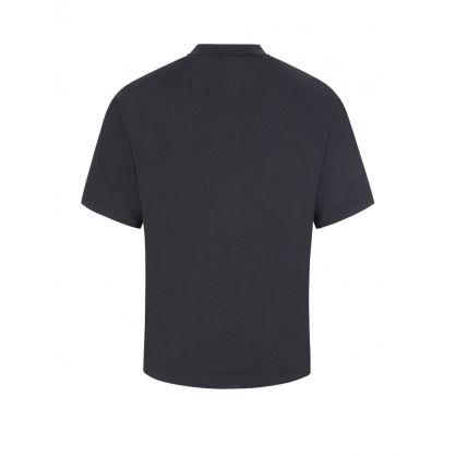 Black Printed Logo T-Shirt