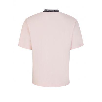 Pink Logo Binding T-Shirt