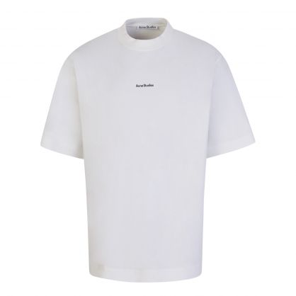Optic White Printed Logo T-Shirt