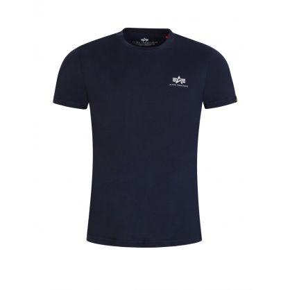 Navy Basic Logo T-Shirt