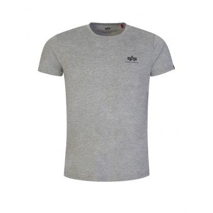 Grey Basic Logo T-Shirt