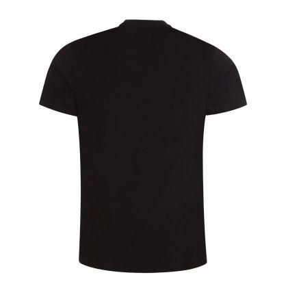 Black Rainbow Reflective NASA T-Shirt
