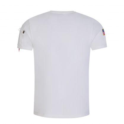 White NASA Heavy T-Shirt