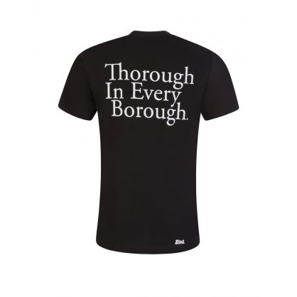 Black Thorough Borough T-Shirt