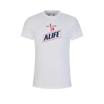 White New York Hunger T-Shirt