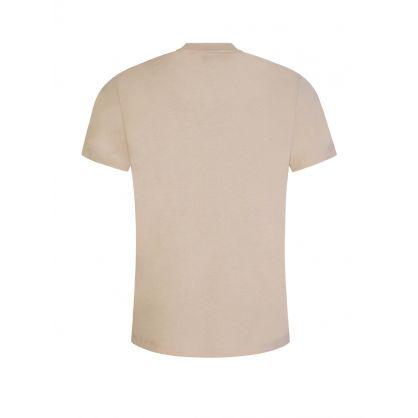 Beige AMI de Coeur Logo T-Shirt