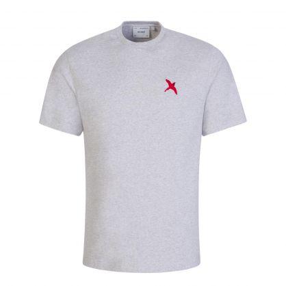 Grey Rouge Bee Bird T-Shirt