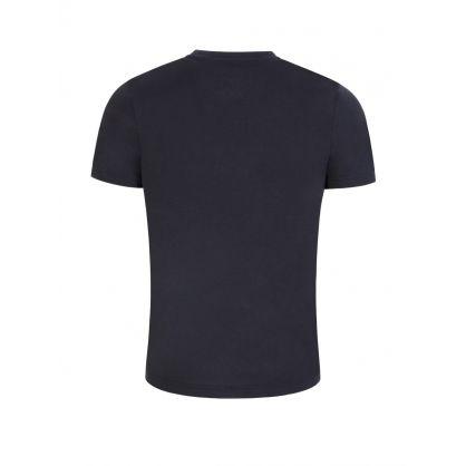 Dark Blue Teeonic Athleisure T-Shirt