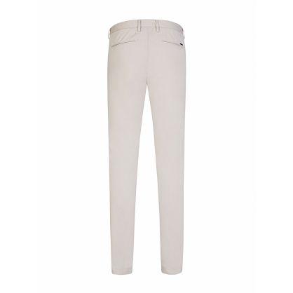 Menswear Beige Slim-Fit Kaito1 Chinos