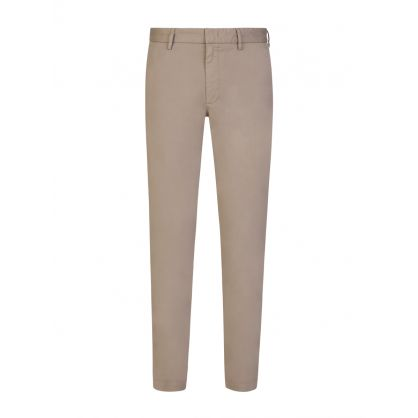 Beige Slim-Fit Kaito1 Stretch Cotton Chinos