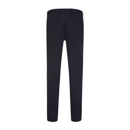 Navy Broad1-W Slim Fit Trousers