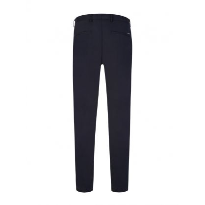 Navy Slim-Fit Broad1-W Trousers