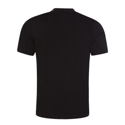 Black Tiburt 241 Multicolour Logo T-Shirt