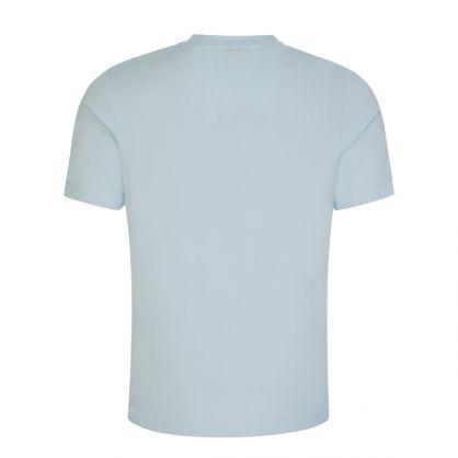 Light Blue Tiburt 241 Multicolour Logo T-Shirt