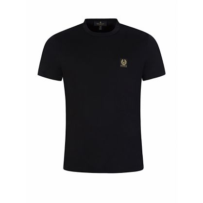 Black Classic Phoenix Logo Patch T-Shirt