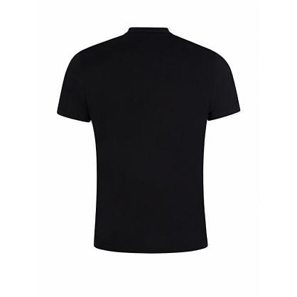 Black Featherweight Cotton Jersey T-Shirt