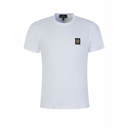 White Featherweight Cotton Jersey T-Shirt