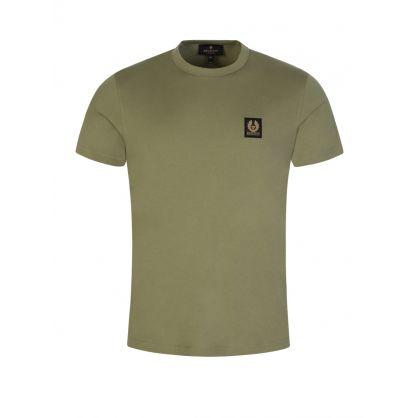 Green Classic Phoenix Logo Patch T-Shirt