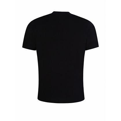 Menswear Black Durned203 Logo T-Shirt