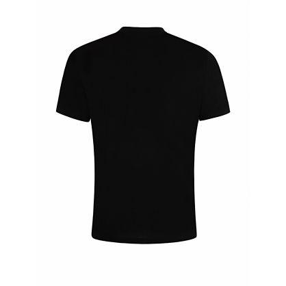 Menswear Black Logo Stripe Dyrtid T-Shirt