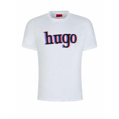 Menswear White Dontrol Logo T-Shirt