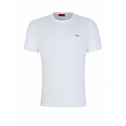 Menswear White Dero203 T-Shirt